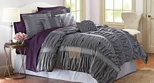 Purple And Gray Comforter Duvet Purple And Gray Bedding Stunning Grey And Gold Bedding