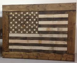 wooden american flag wall diy rustic pallet wood american flag usa