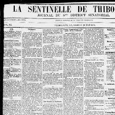 bureau num ique du directeur the weekly thibodaux sentinel and journal of the 8th senatorial