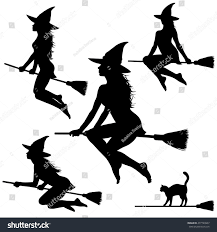 young halloween background royalty free collection of silhouettes of beautiful u2026 477720907