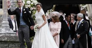pippa middleton marries in lavish semi royal wedding