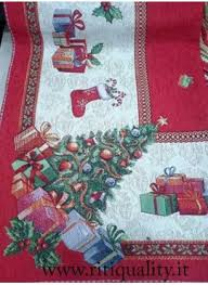 tappeti natalizi tappeto tavola x12 tema natalizio fantasia babbo natale riti quality
