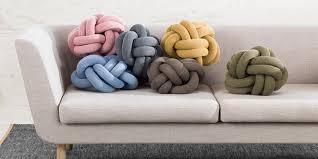 knot pillows knot pillow trend diy knot pillow on pinterest