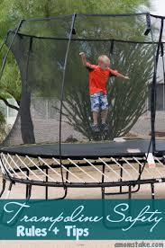 10 essential safe trampoline rules trampoline safety safety