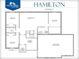 hamilton floor plan rambler new home design nilson homes