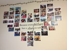 photo collage with a quote in the middle quote decal from