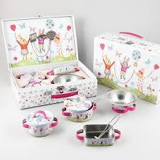 bunny tea set kitchen set 9pc bunny floss and rock