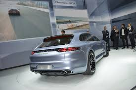 porsche panamera trunk porsche panamera sport turismo in detail with live photos and