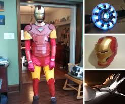 How To Make An Iron Man Costume