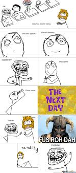 Fus Ro Dah Meme - fus ro dah by trollapecha meme center
