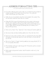 Make Your Own Envelope Envelope Addressing Etiquette U2014 Emily Rose Ink