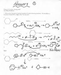 organic chemistry answers to acid base problems