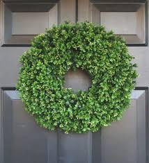 artificial boxwood wreath artificial boxwood wreath 16 inch front door wreaths wedding