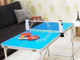 portable ping pong table portable lightweight home family ping pong table sports outdoors
