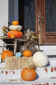 Fall Decorating Ideas For Front Porch - fall decor fall porch ideas chalk paint pumpkins perfectly