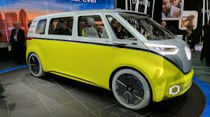 volkswagen minibus electric volkswagen minibus concept van at the detroit auto show