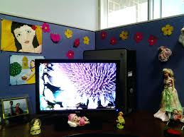 Cubicle Decoration In Office For New Year Theme by Office Design Office Cubicle Birthday Decorating Ideas Office