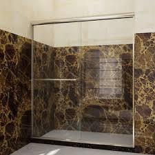Bypass Shower Door Shower 56 60 W Semi Frameless Bypass Sliding Shower Doors