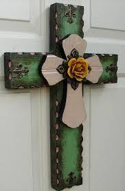 wooden craft crosses 344 best handmade crosses images on wood crosses