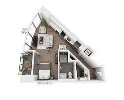 Studio Apartments Floor Plan Floor Plans And Pricing For 399 Fremont San Francisco