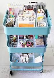 raskog cart ideas ikea raskog cart to store kids craft supplies home projects