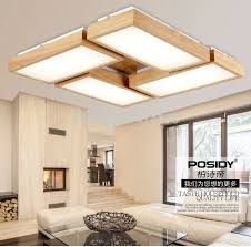 newest home wood living room ceiling lights led new concept design
