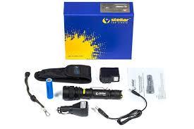 stellar audio video solutions stellar stellar sz 11 600 lumen cree xm l t6 led flashlight focus zoom