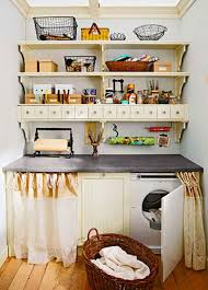 Laundry Room Storage Shelves by Small Laundry Room With Open Shelves Featured Cube Drawers Good