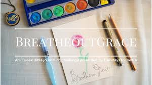 Challenge Can You Breathe Breathe Out Grace Bible Journaling Tutorial Move The Mountains