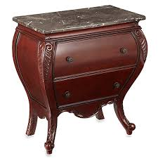 Bed Bath And Beyond Nightstand Bombay Harrington Side Chest In Antique Mahogany Bed Bath U0026 Beyond