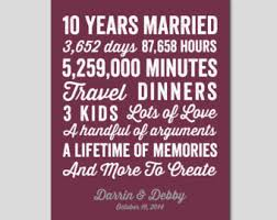 10th wedding anniversary simple 10th wedding anniversary gifts b86 on pictures collection