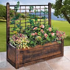 plants plant pots for fences inspirations hanging flower pots