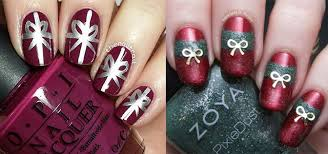 12 easy christmas present nail art designs u0026 ideas 2015 xmas