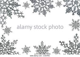 snowflake border white stock photos snowflake border white stock