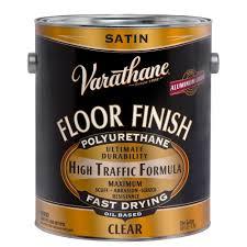 varathane 1 gal clear satin 275 voc oil based floor finish