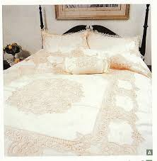 elite battenburg lace bedding ensemble u0026 matching sheet sets the