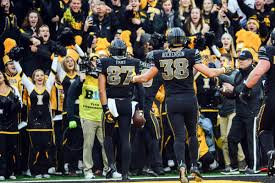 Iowa Hawkeyes Flag Ohio State Vs Iowa Game Recap 2017 Iowa Beats No 6 Ohio State