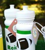 football favors gatirade popcorn football party favors white coloring