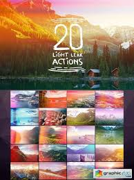 light leak photoshop action 20 light leak actions 103880 free download vector stock image