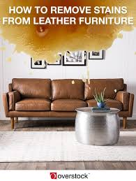 How To Remove Pen Marks From Leather Sofa by How To Remove Stains From Leather Furniture Overstock Com