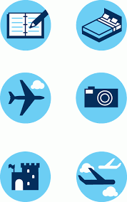 budget travel images Quickhoney vector icons budget travel icons_b