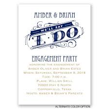 we u0027ll say i do mini engagement party invitation invitations by dawn