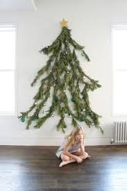 diy tree cheap easy and space friendly way to decorate