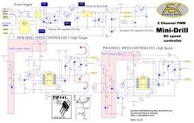 speed control of dc motor using arm7 lpc2148 circuit wiring