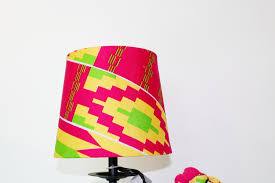 african print home decor african print lampshade kente cloth lampshade home decor pink