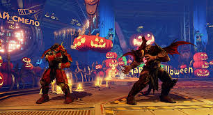 Special Halloween Costumes Special Halloween Costumes Stage Offered Street Fighter Dlc