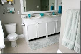 Install A Bathroom Vanity by Remodelaholic How To Raise Up A Short Vanity