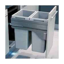 poubelle coulissante cuisine poubelle coulissante pour élément de 450 mm tri sélectif