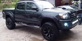 2006 toyota tacoma fuel toyota tacoma fuel assault d546 wheels black milled