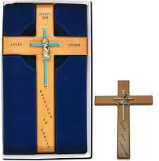 personalized crosses baptism crosses personalized amanda crafts